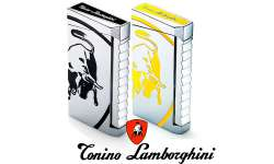 Briquet torche Lamborghini Toro chrome