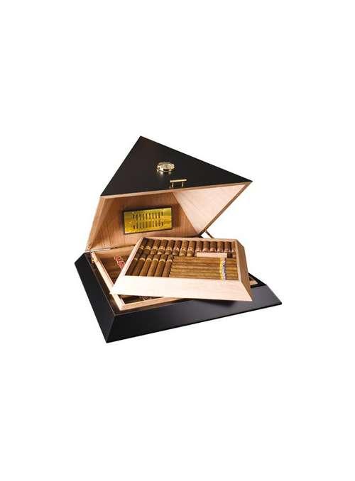 cave à cigares pyramide noire