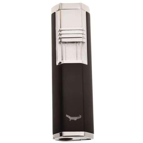 Briquet double jet avec perce cigare