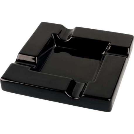 Cendrier noir céramique 4 cigares