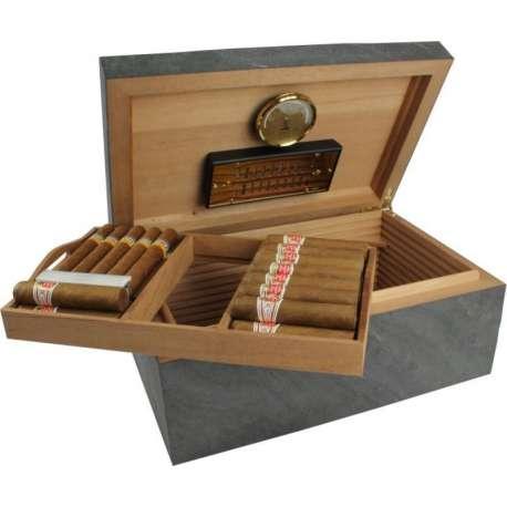 Cave à cigare Adorini Black Slate Deluxe Édition spéciale