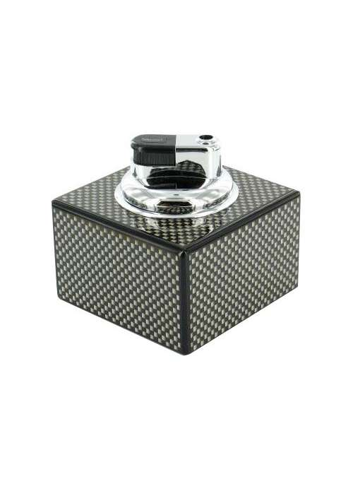 Briquet de table carbone