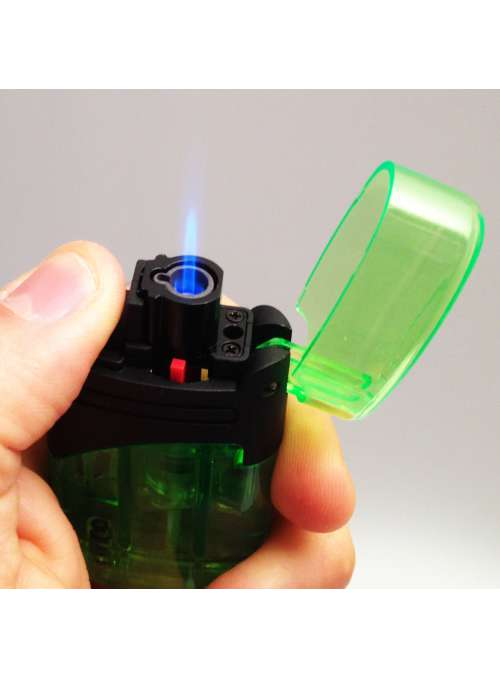 Briquet torche Ex transparent