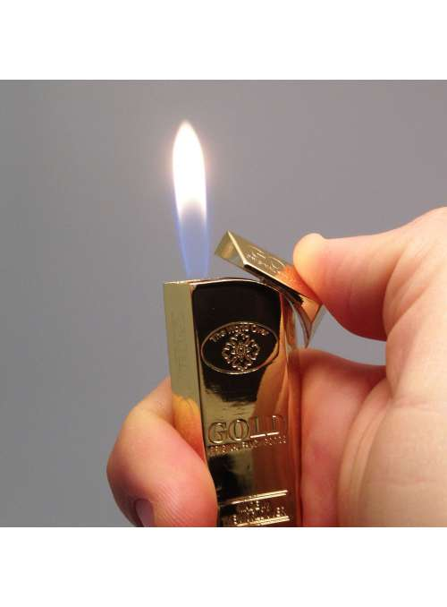 Briquet flamme Gold