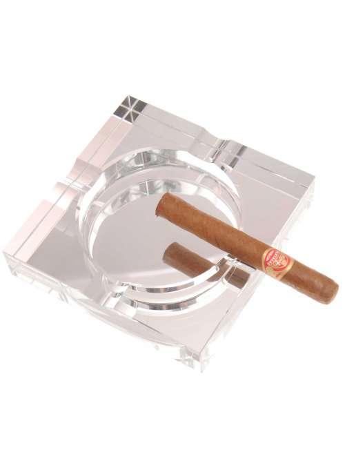 Cendrier verre 4 cigares