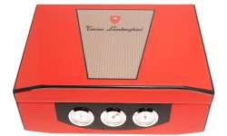 Cave Lamborghini rouge