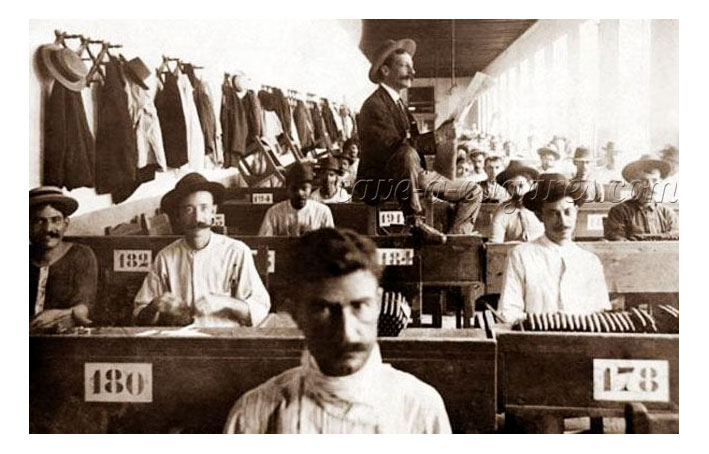 lecteur usine cigare cubain